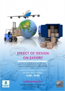 EFFECT OF DESIGN ON EXPORT