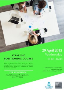 STRATEGIC POSITIONING COURSE