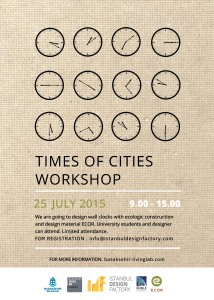 TIMES OF CITIES WORKSHOP