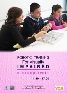 Robotic Training For Visually Impaired