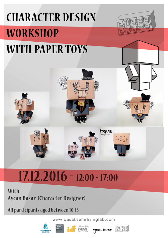 Character Design Workshop With Paper Toys