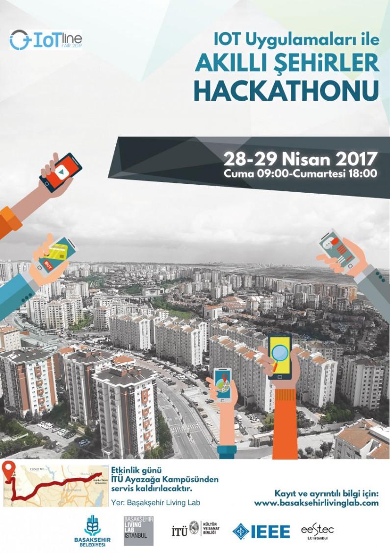 IOT Uygulamaları ile Akıllı Şehirler Hackathonu
