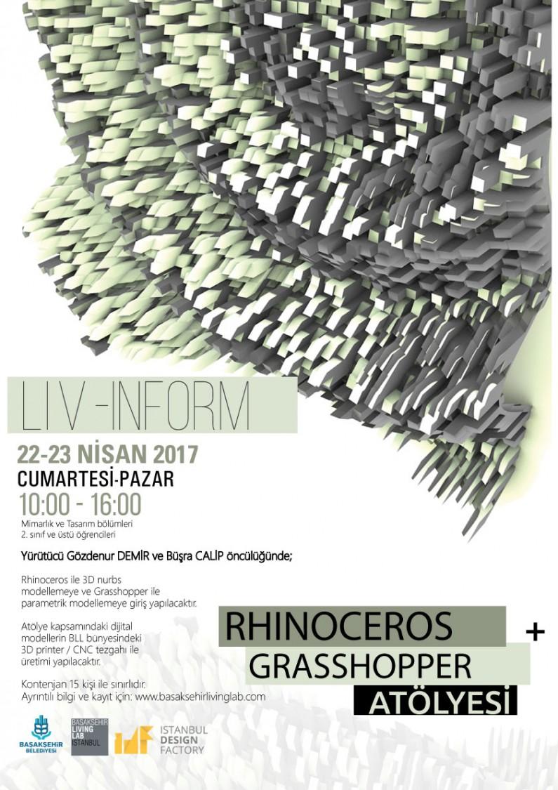 Liv-inform RHINOCEROS + GRASSHOPPER ATÖLYESİ
