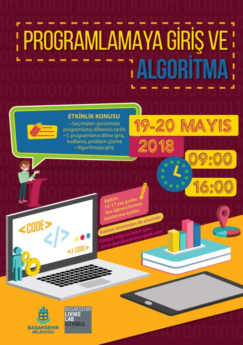 Programlamaya Giriş ve Algoritma