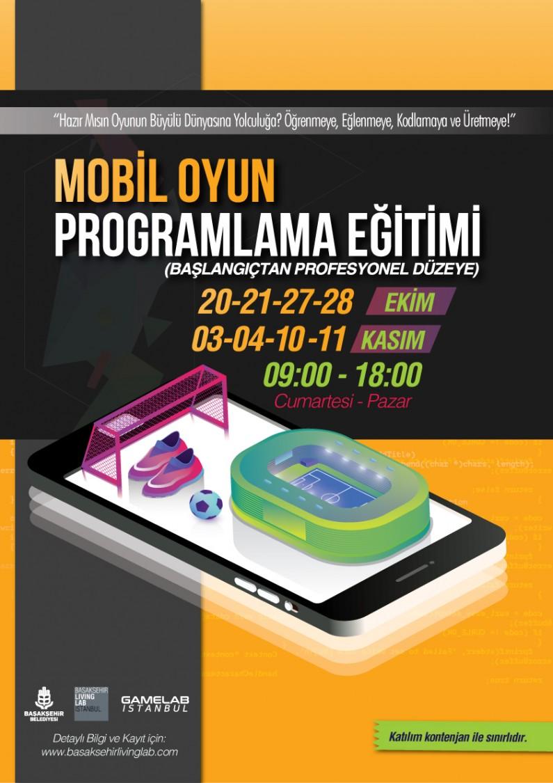Mobil Oyun Programlama Eğitimi