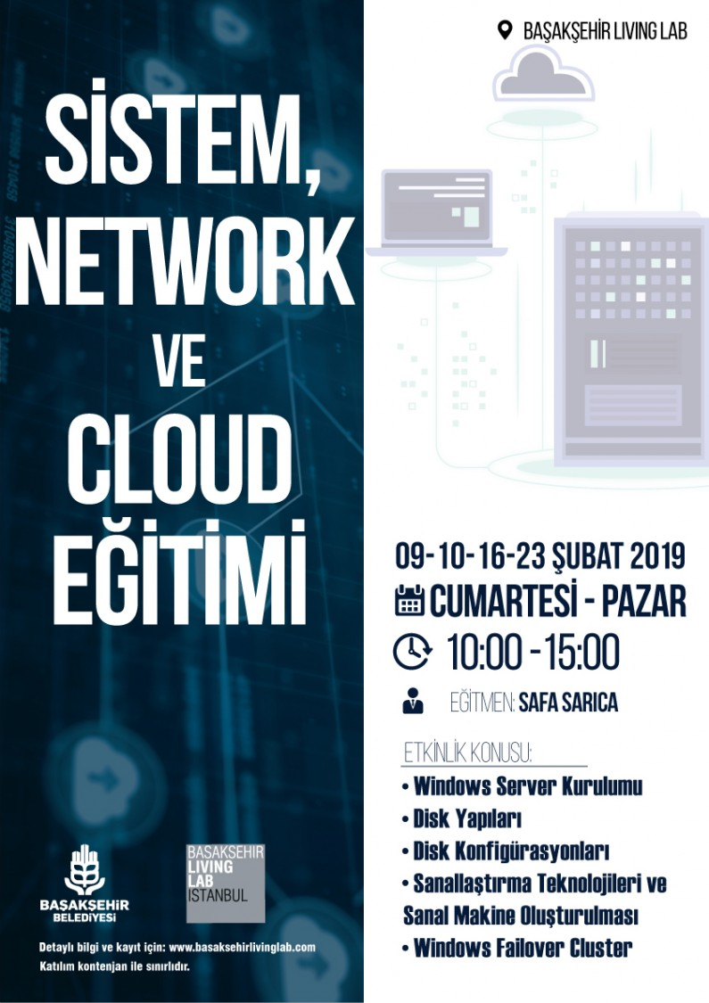Sistem, Network ve Cloud Eğitimi
