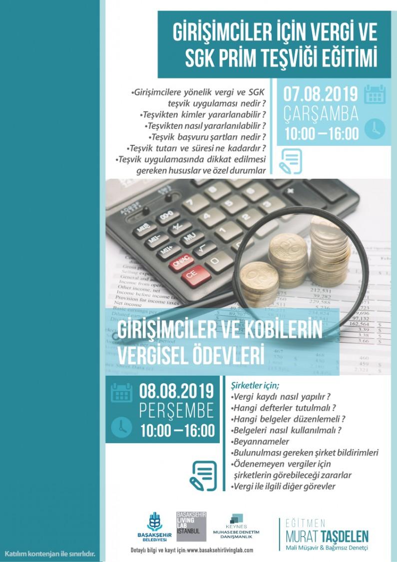 Girişimciler için Vergi ve SGK Prim Teşviği Eğitimi