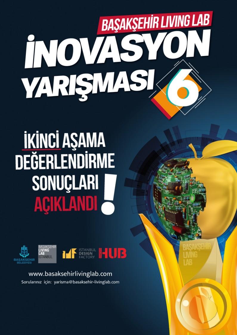 Başakşehir Living Lab İnovasyon Yarışması 6 – 2.Aşamayı Geçen Proje Rumuzları