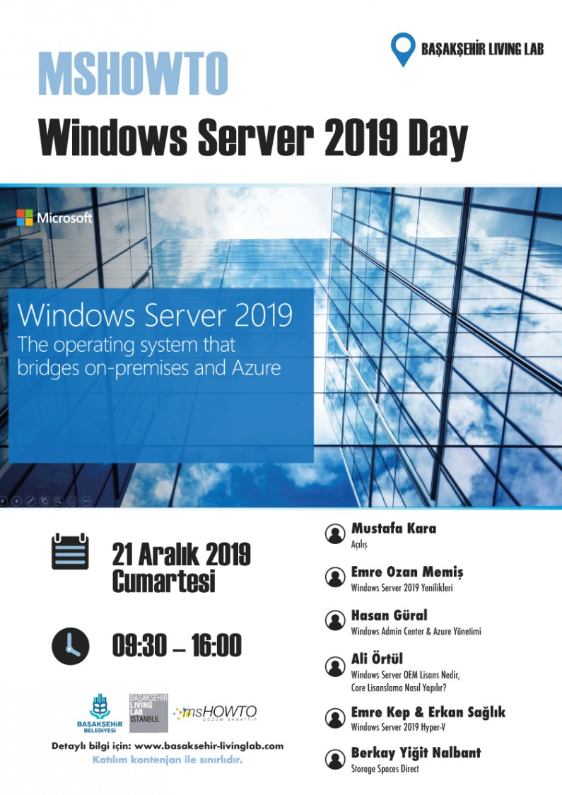 MSHOWTO – Windows Server 2019 Day