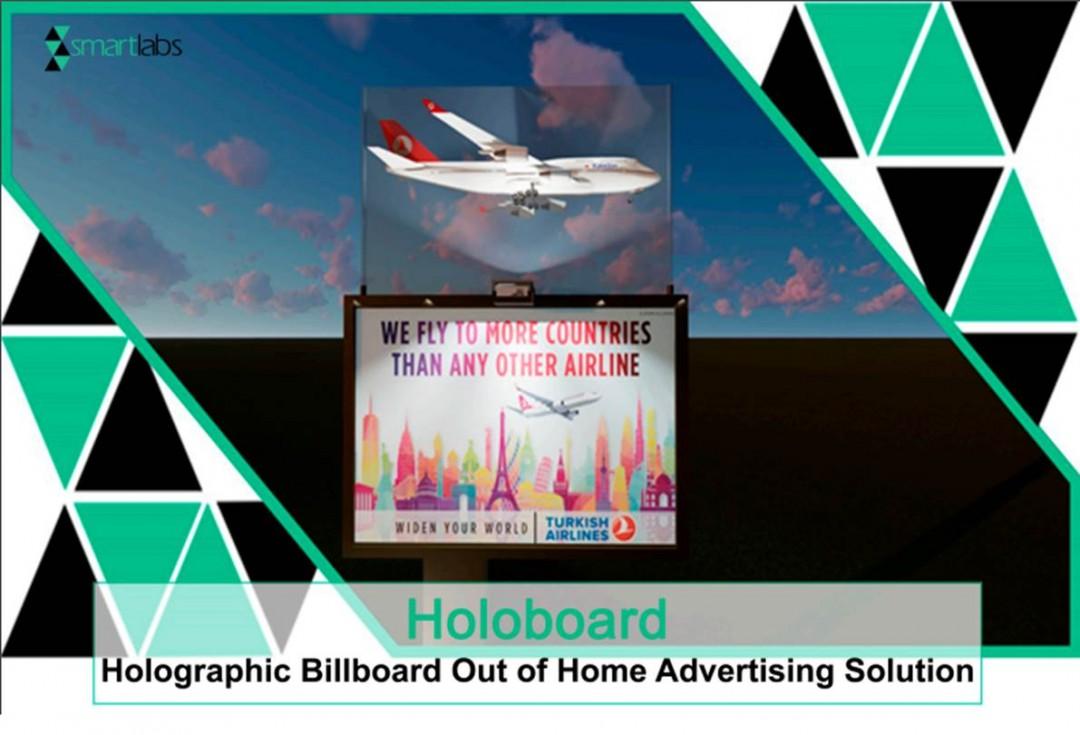 HOLOBOARD- Holografik Billboard Açık Hava Reklam Çözümü