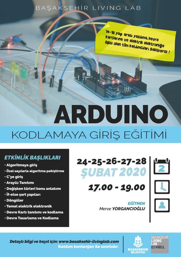 Arduino İle Kodlamaya Giriş Eğitimi