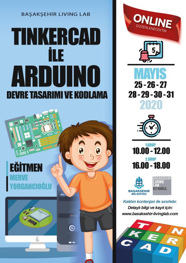 Tinkercad ile Ardunio Devre Tasarımı ve Kodlama – Online