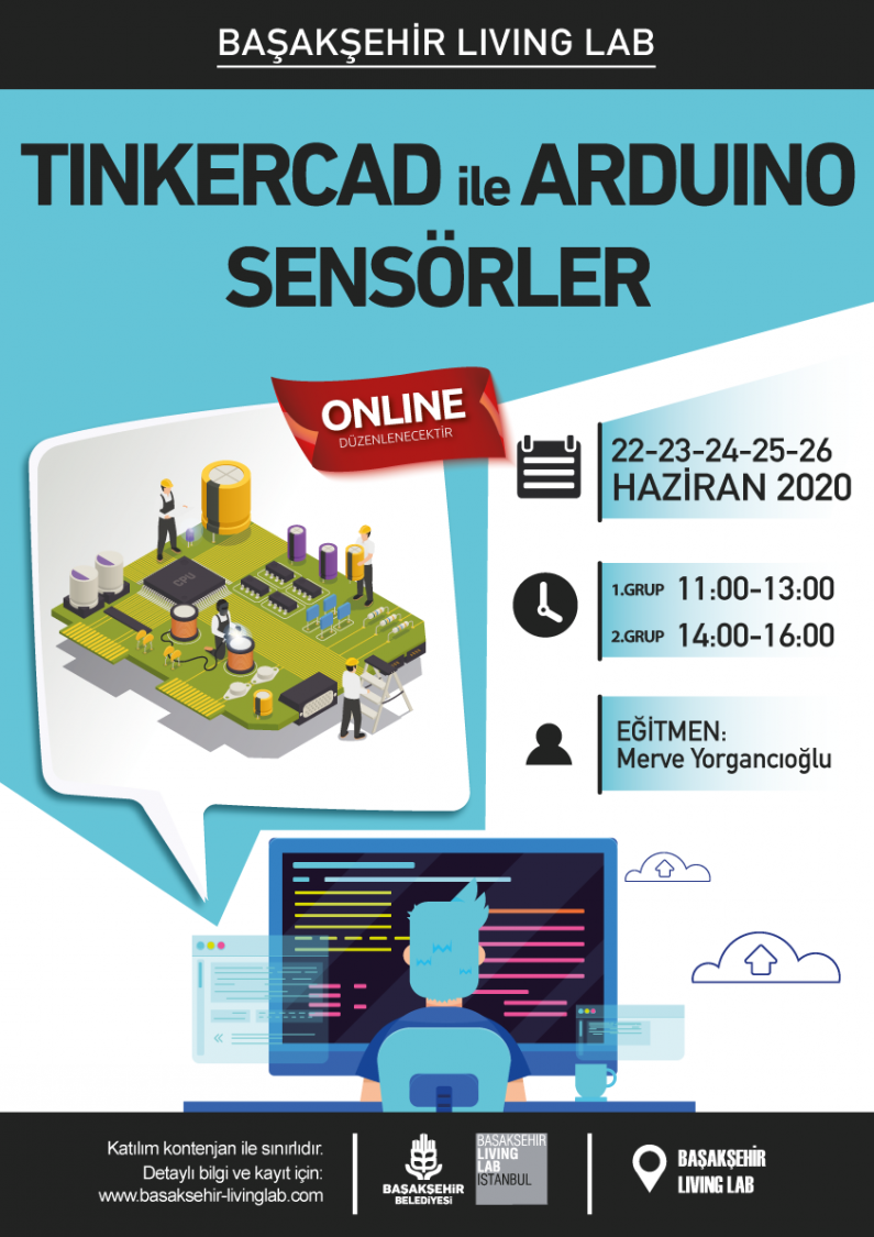 Tinkercad ile Arduino Sensörler Eğitimi