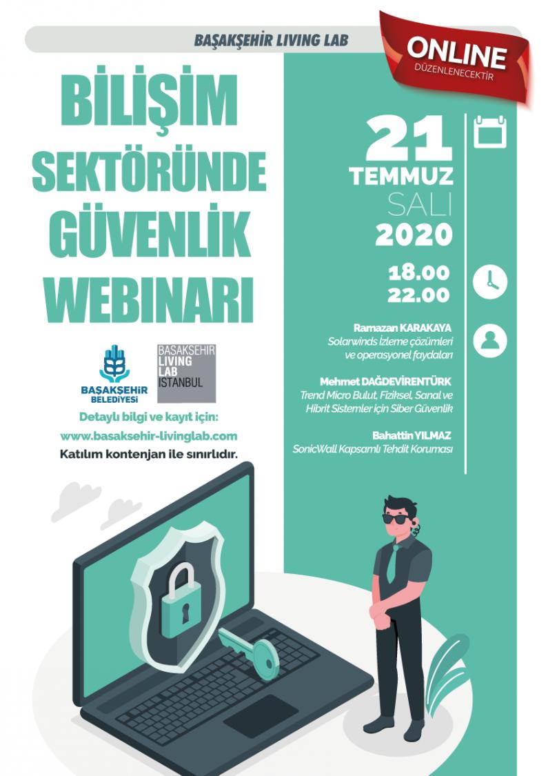 Bilişim Sektöründe Güvenlik Webinarı