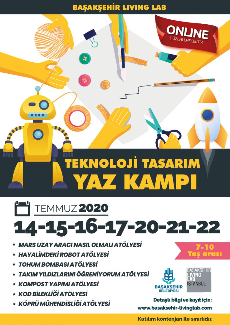 Teknoloji Tasarım Yaz Kampı