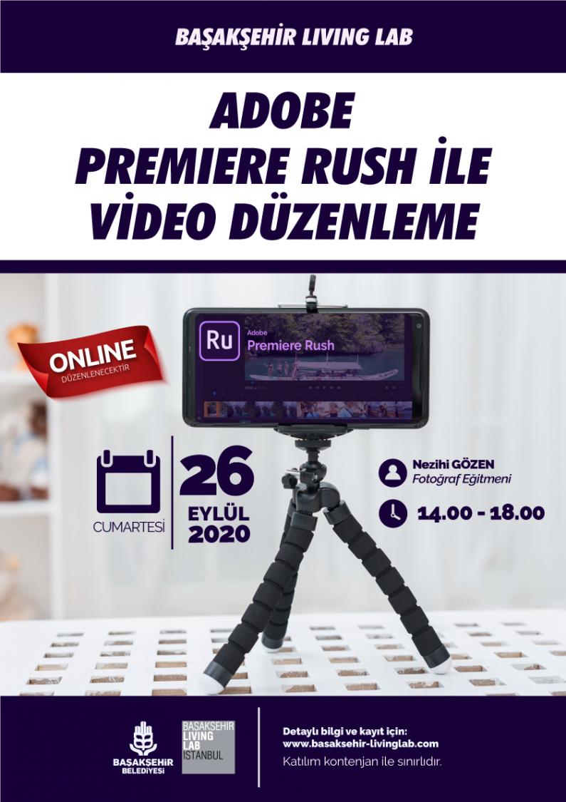 Adobe Premiere Rush İle Video Düzenleme