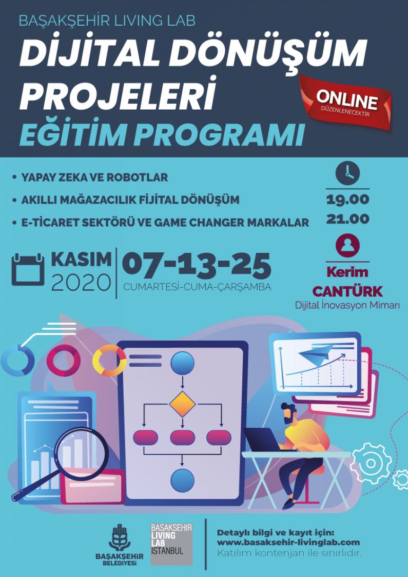 Dijital Dönüşüm Projeleri Eğitim Programı