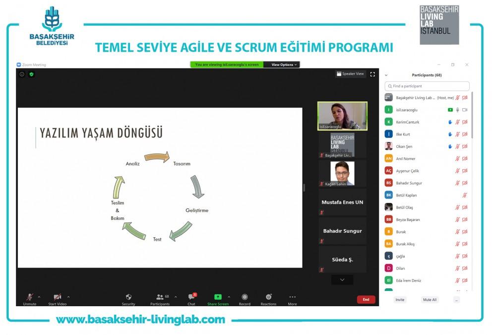 Temel Seviye Agile ve Scrum Eğitim Programı Online Olarak Verildi