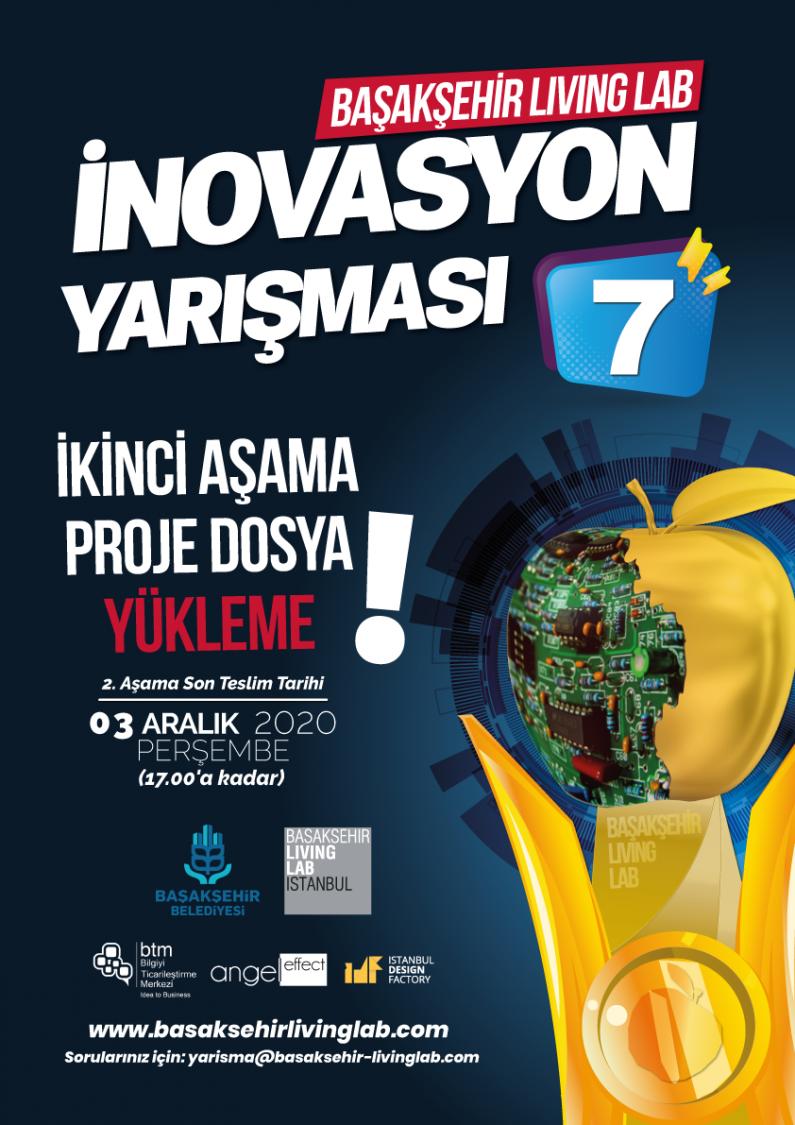 Başakşehir Living Lab İnovasyon Yarışması 7 – 2. Aşama Proje Yükleme Formu