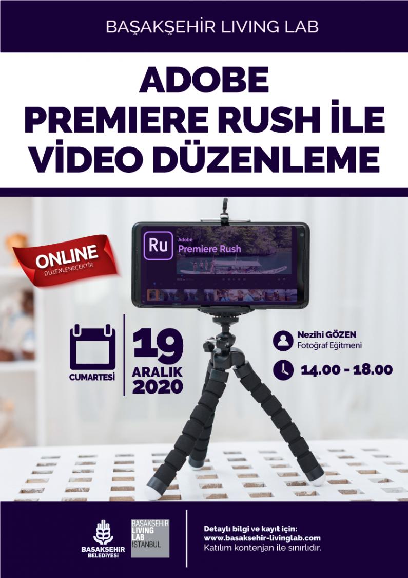 Adobe Premiere Rush ile Video Düzenleme Eğitimi