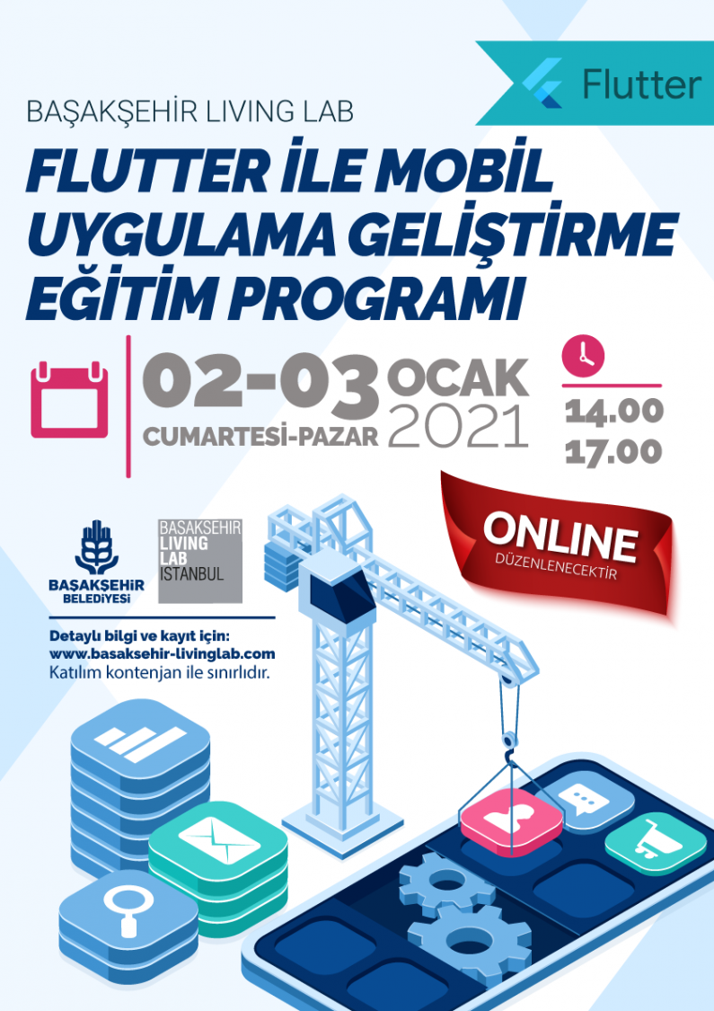 Flutter İle Mobil Uygulama Geliştirme Eğitimi Programı