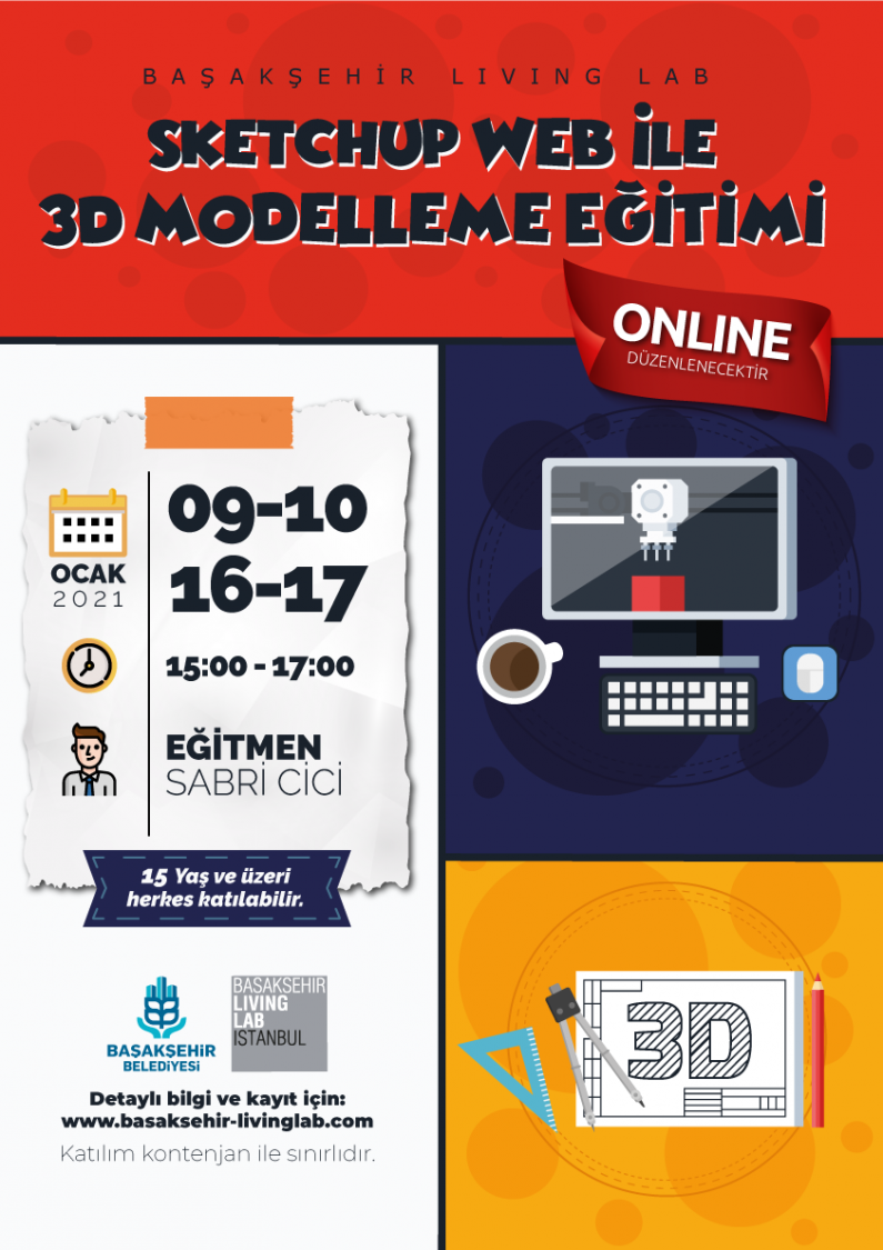 Sketchup Web ile 3D Modelleme Eğitimi