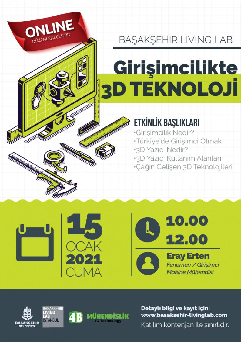 Girişimcilikte 3D Teknoloji