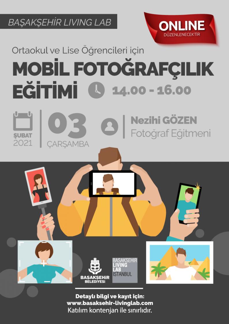 Ortaokul ve Lise Öğrencileri için Mobil Fotoğrafçılık Eğitimi