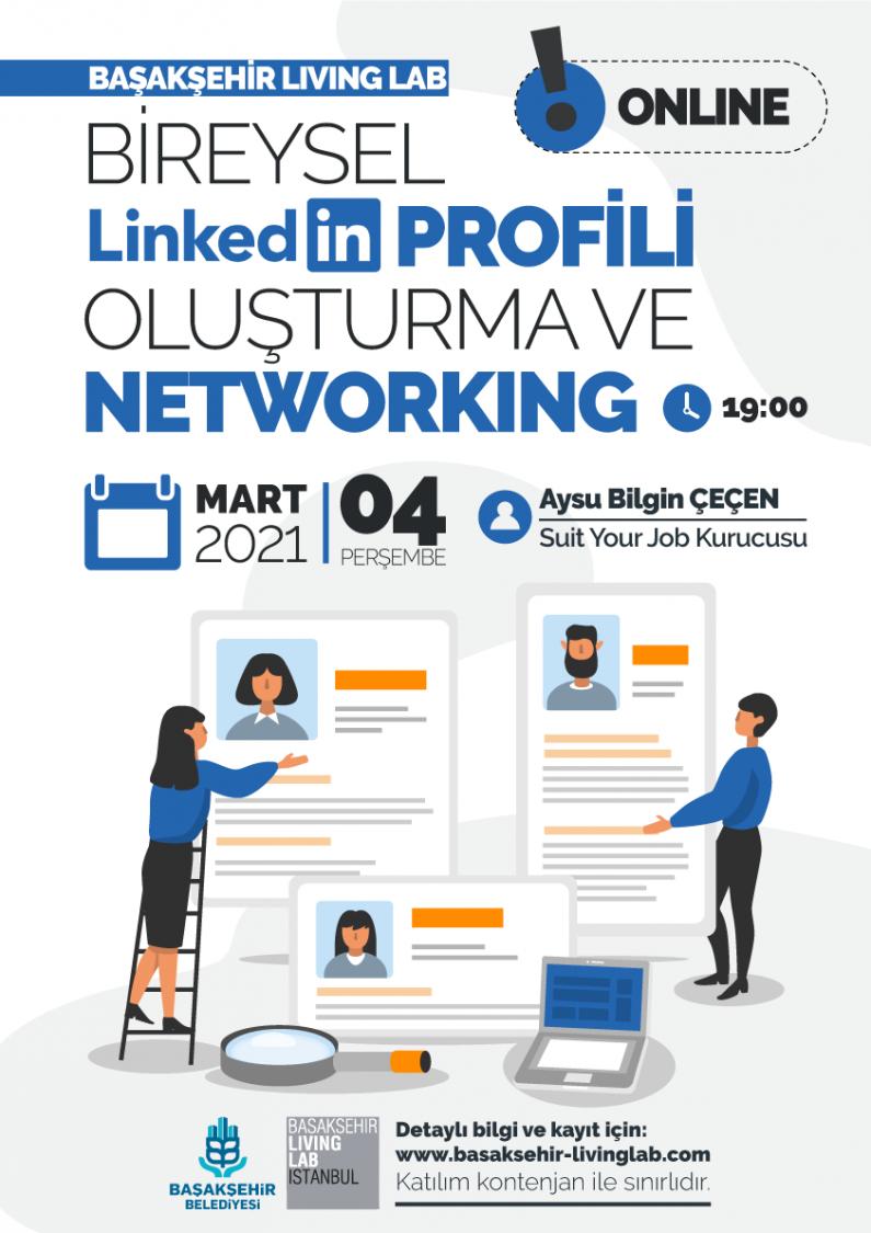 Bireysel Linkedin Profili Oluşturma ve Networking