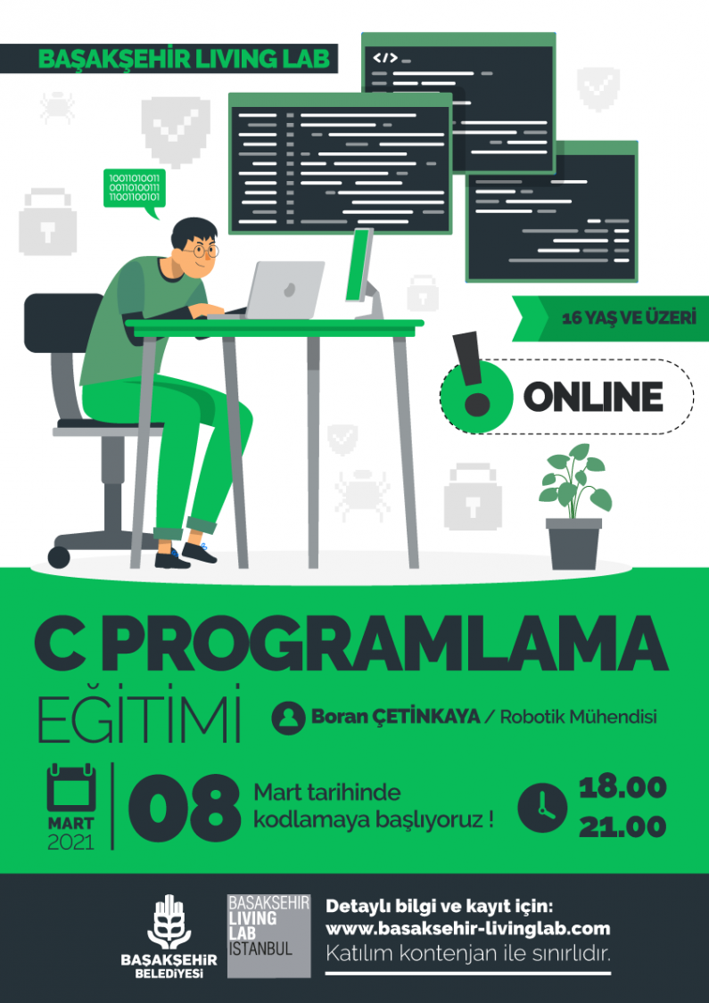 C Programlama Eğitimi