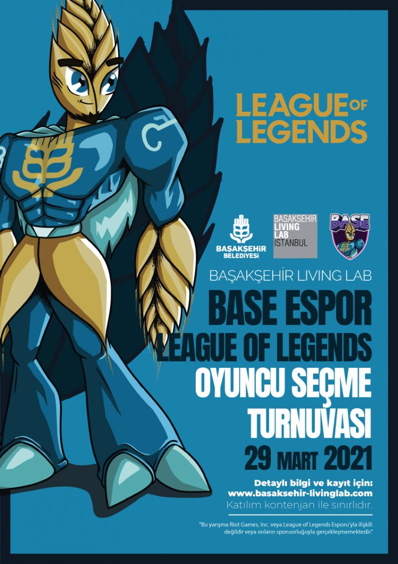 Base Espor League of Legends Oyuncu Seçme Turnuvası 2