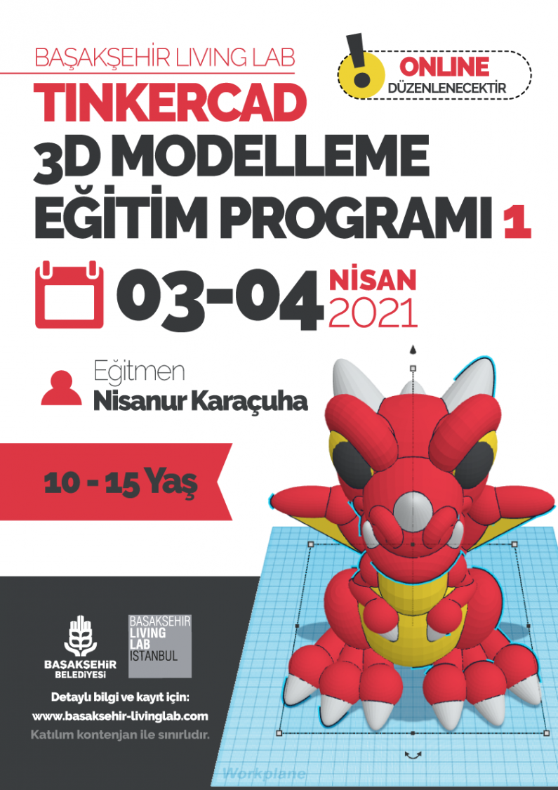 Tinkercad 3D Modelleme Eğitim Programı 1