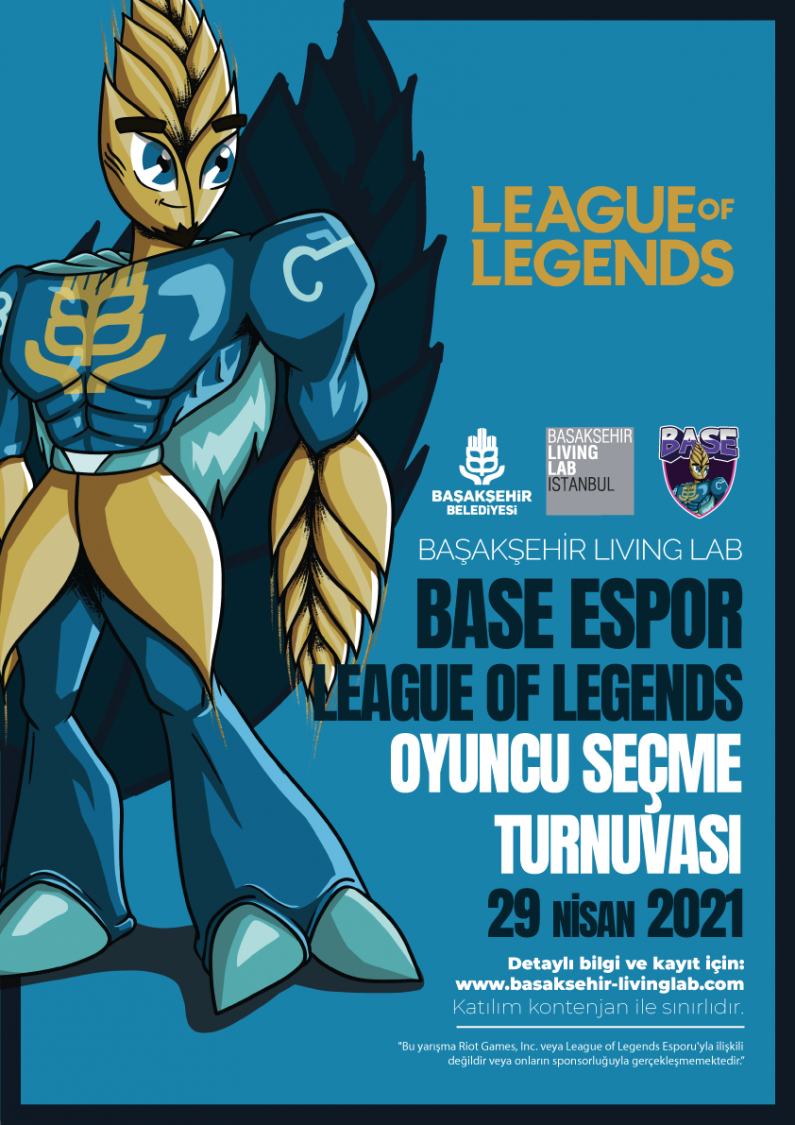 Base Espor League of Legends Oyuncu Seçme Turnuvası 3
