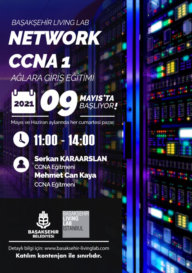 Network CCNA1 Ağlara Giriş Eğitimi