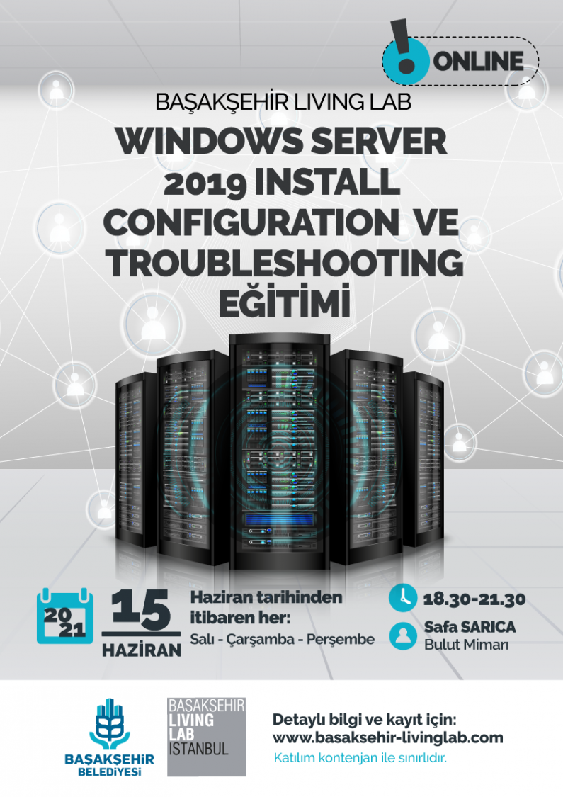 Windows Server 2019 Install, Configuration ve Troubleshooting Eğitimi