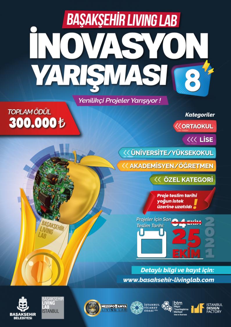 Başakşehir Living Lab İnovasyon Yarışması 8
