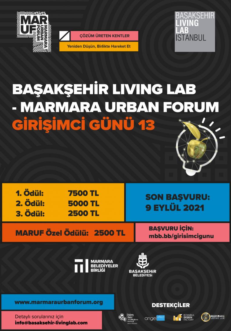 Başakşehir Living Lab – Marmara Urban Forum Girişimci Günü 13