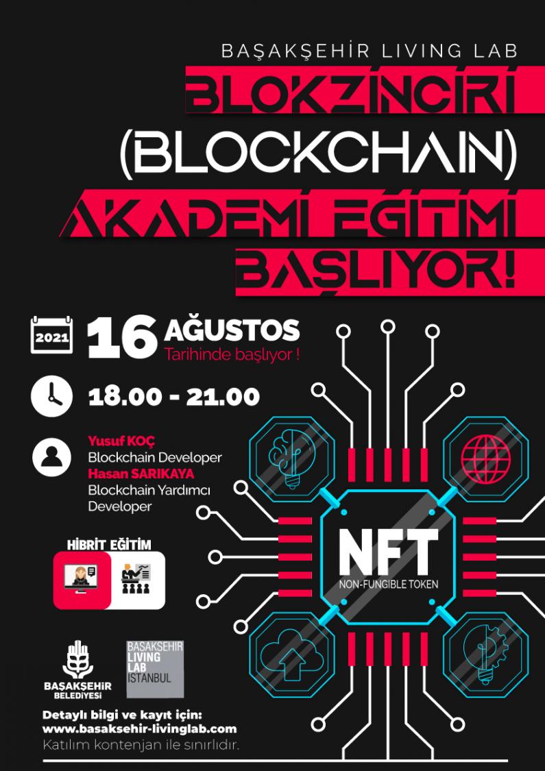 Blokzincir (Blockchain) Akademi Eğitimi Başlıyor!
