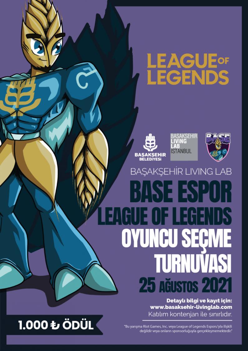 Base Espor League of Legends Oyuncu Seçme Turnuvası